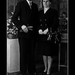 Huwelijk Gerard Carpels - Martha Deckmijn, Ingelmunster, 1947