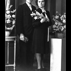 Huwelijk Frans Tijvaert - Maria De Jaegere, Ingelmunster, 1942