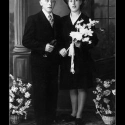 Huwelijk Josef Demasure - Margaretha Vroman, Ingelmunster, 1944