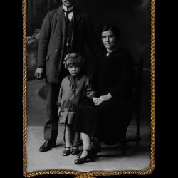 Familie Camille Belaen, Ingelmunster, 1927