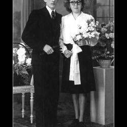 Huwelijk Raphaël Vaneeckhoutte - Godelieve Desmet, Ingelmunster, 1945