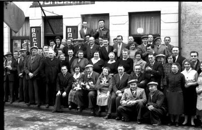 Café 'De Wijngaard', Izegem 1957