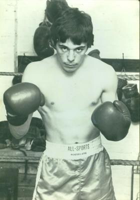 Ferdi Vanmoerkerke als bokser, Roeselare