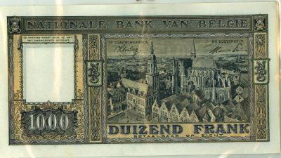 Oud geld Dynastietype 1000BFR