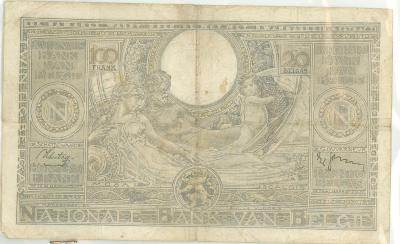 Oud geld type 1933, 100 BFR