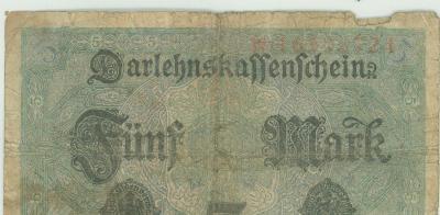 Noodgeld WO I, Duitsland