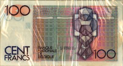 Oud geld type Beyaert 100 BFR