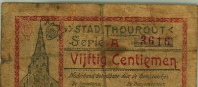 Noodgeld WO I, Torhout (a)