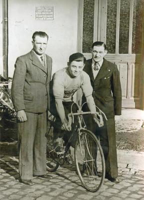 Gilbert Desmet als renner, Roeselare, 1953-1967