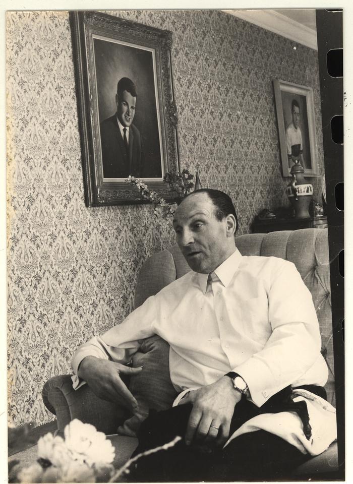 Portret Albert Sercu