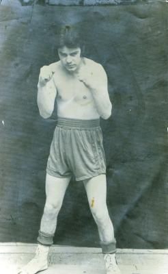 Franky Vanackere als bokser, 1974