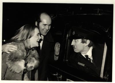Reg Varney op bezoek in Izegem