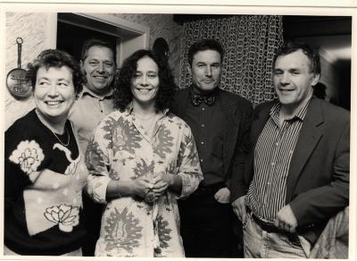 Ulla Werbrouck en Jean-Marie Dedecker