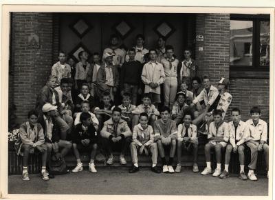Scouts aan College Izegem