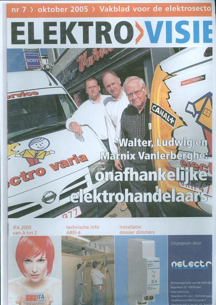 Informatiebrochures, Electro-Varia, Ingelmunster