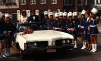 Huwelijk majorette M Christine Haelewijn, Gits, 6 september 1975