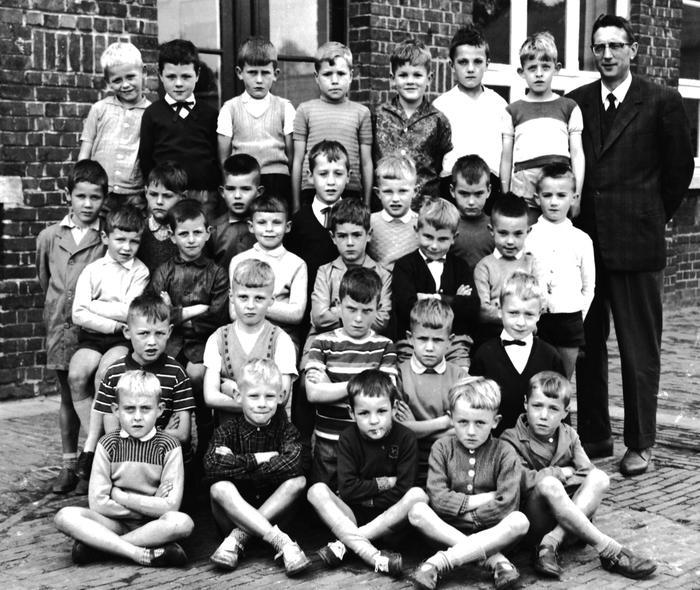 2de leerjaar, geboortejaar 1955, Gits