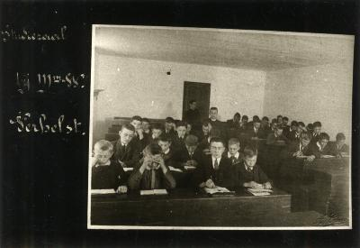 Studiezaal in het Klein Seminarie