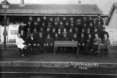 Stationsmedewerkers, Ingelmunster, 1926