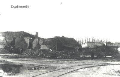 Ruïnes van huizen, Dadizele
