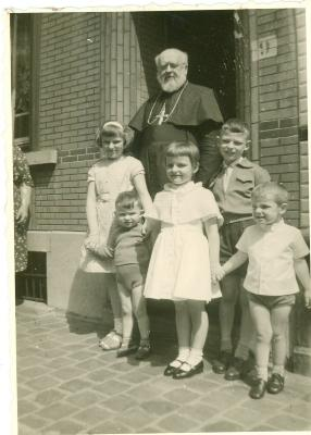 Familiefoto Buyse, rond 1959-1960