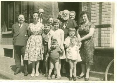 Familiefoto Buyse, rond 1963