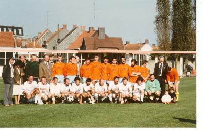 Voetbalploeg VTI, Roeselare, 1981