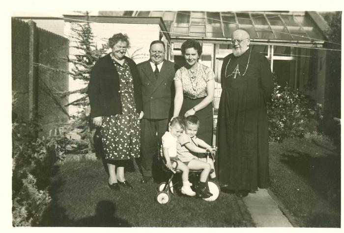 Familiefoto Buyse, rond 1960