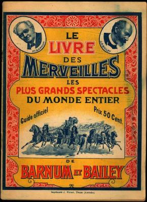 Officiële gids van het Barnum en Bailey Circus