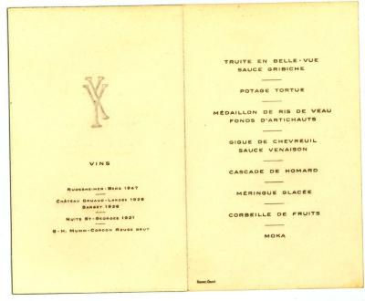 Franstalige menukaart (3)