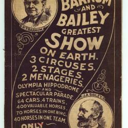 Barnum en Baileys book of wonders