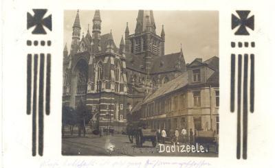 Basiliek en 'Gildhof afspanning St.-Sebastiaan', Dadizele