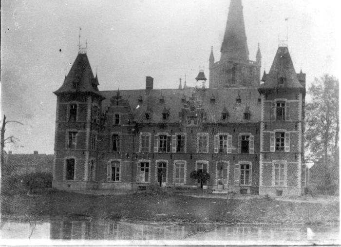 Beschadigd kasteel, Dadizele