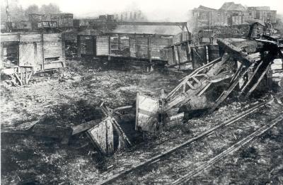Beschoten spoorweg