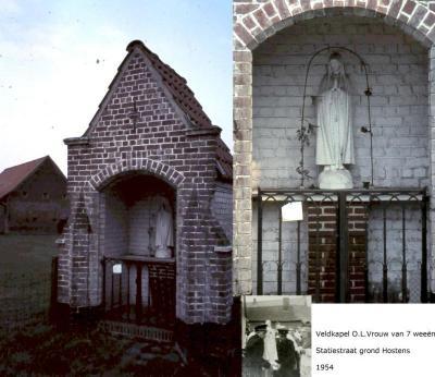 Overzicht kapelletjes te Gits
