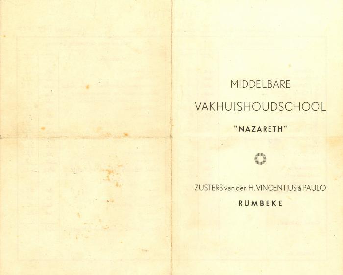 Bulletin van Alina Spincemaille, Rumbeke, 1948 en 1949