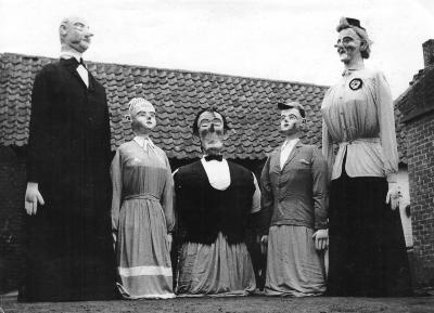 Stretjeskermis, Lichtervelde, 1951-1954