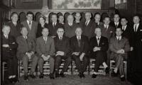Nieuw stadsbestuur, na de fusie Izegem-Emelgem, 1 januari 1965