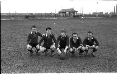 Junior voetbalspelers van de eerste lijn, Izegem 1957