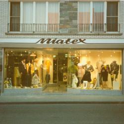 Tweede generatie: Michel Verlinde en Agnes Misplon, kledingzaak Miatex, Moorslede