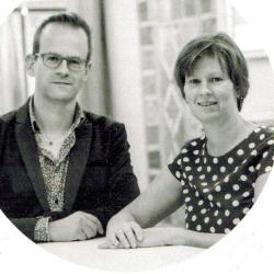 Vierde generatie: Wim Godderis en zijn zus Veerle Godderis, schilder- en decoratiebedrijf Godecor, Moorslede