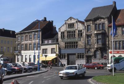 Bourgondisch Hof en andere historische gevels Stationsplein, 1997