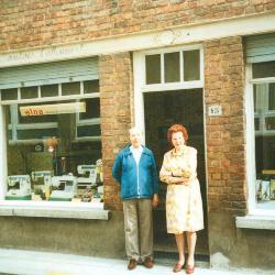 Tweede generatie Charles Sambaer en Maria Callewaert, huis Sambaer, Roeselare
