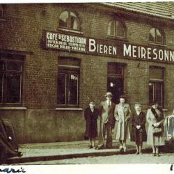 Eerste generatie Gerard Degandt en Irene Decoene, wasbedrijf Sint-Jan, Staden