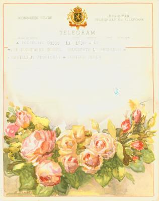Huwelijkstelegrammen voor de familie Hoornaert-Rommel 8