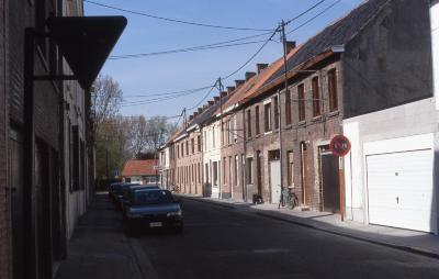 Straatzicht Handboogstraat, 1997