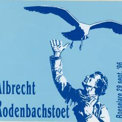 Sticker Albrecht Rodenbachstoet, Roeselare