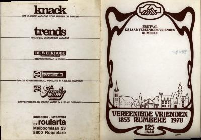 """Programma """"Raadsels uit de prehistorie"""", Rumbeke, 1978"""