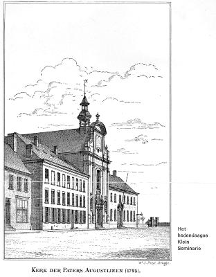 Leerlingenlijst oude en moderne humaniora Klein Seminarie, Roeselare, 1972