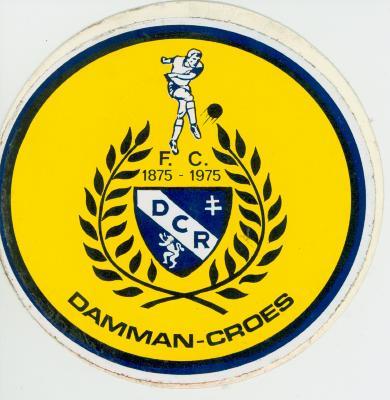 Sticker voetbalploeg F.C. DCR, Roeselare